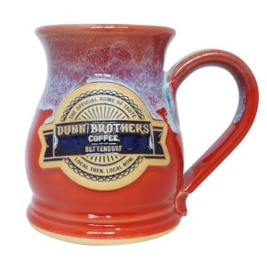 large stoneware coffee mug