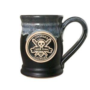 beer barrel mug