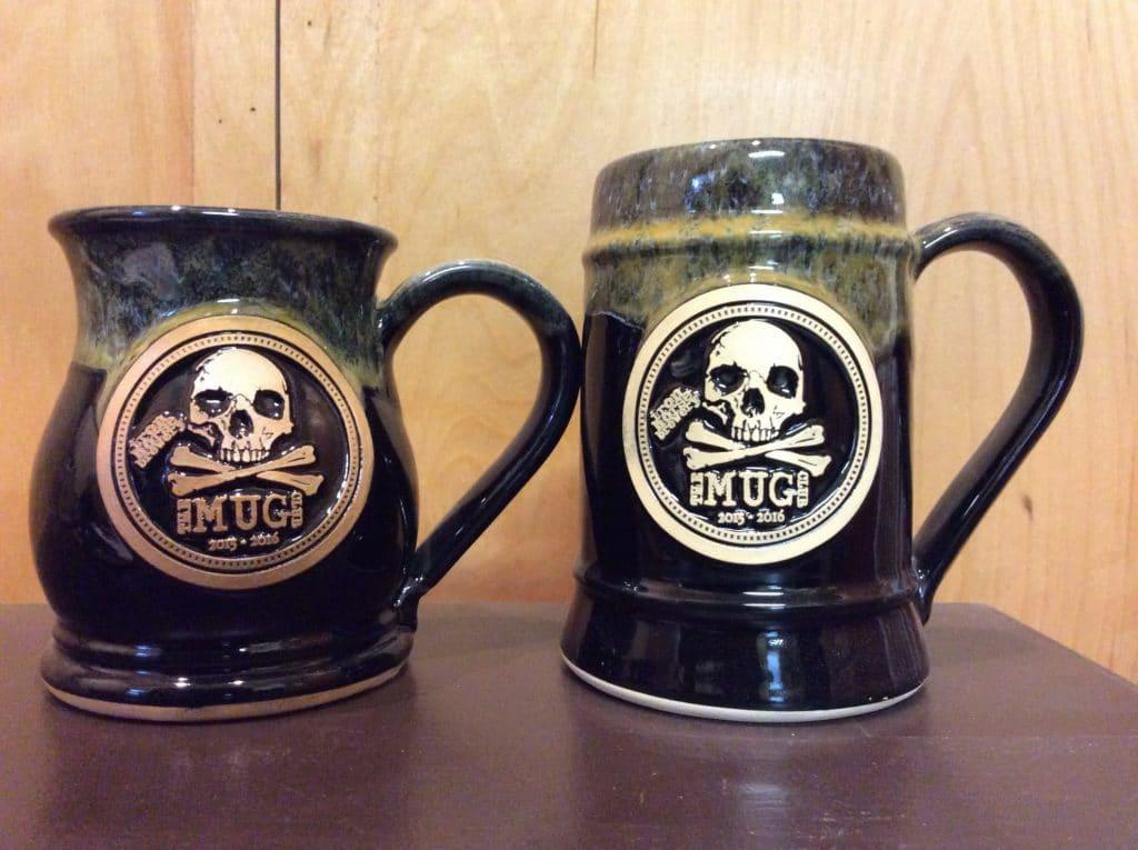 why custom beer steins make a better mug club grey fox pottery. Black Bedroom Furniture Sets. Home Design Ideas